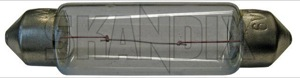 Bulb Soffitte Interior light Number plate light 6 V 10 W 182057 (1018555) - Volvo 120 130, PV - bulb soffitte interior light number plate light 6v 10w Own-label 10 10w 11 11mm 44 44mm 6 6v bulb interior light mm number plate soffitte soffitten v w