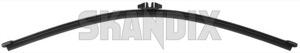 Wiper blade for Rear window Flat 30699848 (1018588) - Volvo XC90 (-2014) - wiper blade for rear window flat wipers Genuine aero cleaning flat flatbarwipers for rear window