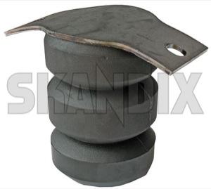 Bump stop, Suspension 666905 (1018684) - Volvo 220 - blocks bump stop suspension helper springs rubber buffers strut bump stop Genuine axle rear