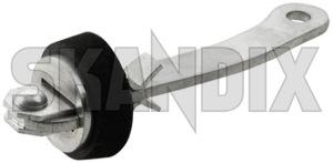 Door catch 664256 (1018808) - Volvo P1800, P1800ES - 1800e door catch doorbrakes doorstops p1800e stops Own-label