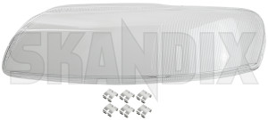 Streuscheibe Scheinwerfer Glas links Volvo S80 I XENON
