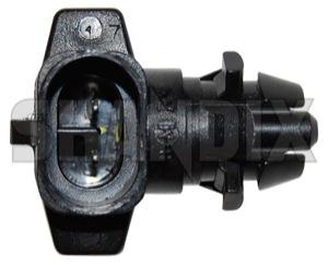 Sensor, Exterior temperature 30810375 (1019129) - Volvo S40 V40 (-2004) - sender unit sensor exterior temperature Genuine bumper