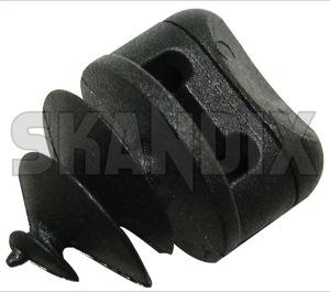 Snap fastener Floor mat 3529482 (1019698) - Volvo 850, 900, universal ohne Classic, S40 V40 (-2004) - snap fastener floor mat Own-label black car floor mat