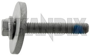 Bolt, Drive shaft 30670602 (1020667) - Volvo C30, C70 (2006-), C70 (-2005), S40 (2004-), S40 V50 (2004-), S60 (2011-2018), S60 (2019-), S60 (-2009), S60 XC (-2018), S70 V70 V70XC (-2000), S80 (2007-), S80 (-2006), S90 V90 (2017-), V40 (2013-), V40 XC, V40 Cross Country, V60 (2011-2018), V60 (2019-), V60 XC (19-), V60 XC (-18), V70 (2008-), V70 P26, V70 P26, XC70 (2001-2007), V70 XC70 (2008-), V90 XC, XC40, XC60 (2018-), XC60 (-2017), XC70 (2001-2007), XC70 (2008-), XC90 (2016-), XC90 (-2014) - bolt drive shaft Own-label 65 65mm axle front locking m10 mm needed rear screw