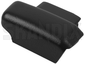 Drip rail moulding rear right End 30803562 (1021191) - Volvo V40 (-2004) - drip rail moulding rear right end trim moulding Genuine end rear right