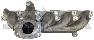 Manifold, Exhaust system 30637921 (1021245) - Volvo S60 (-2009), S80 (-2006), V70 P26, XC70 (2001-2007), XC90 (-2014) - manifold exhaust system Genuine
