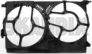 Housing, Radiator fan 24410993 (1021259) - Saab 9-3 (2003-) - housing radiator fan Own-label