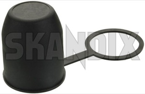 Cap, Ball head Trailer hitch universal  (1021377) - universal - cap ball head trailer hitch universal Own-label material plastic synthetic universal