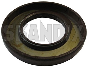 Radial oil seal, Differential 30819932 (1021432) - Volvo S40 V40 (-2004) - radial oil seal differential Own-label      differential drive outlet output right shaft transmission