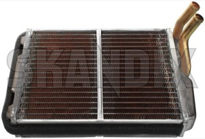 Heat exchanger, Interior heating 1307236 (1021452) - Volvo 700, 900, S90 V90 (-1998) - brick heat exchanger interior heating Genuine air conditioner for vehicles with