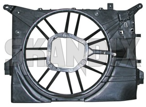 Housing, Radiator fan 30741238 (1021826) - Volvo S60 (-2009), V70 P26, V70 P26, XC70 (2001-2007) - housing radiator fan Genuine