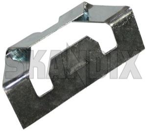 Clip, Body trim Trim, Windscreen 682321 (1021918) - Volvo 140, 164, 200 - clip body trim trim windscreen Genuine sheet steel trim trim  windscreen