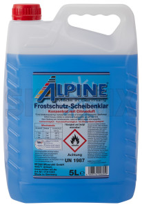 Washer fluid with Antifreeze 5 l Concentrate  (1022037) - universal  - bug wash off front shield front window cleaning glass cleaner washer fluid with antifreeze 5l concentrate washer solvent windshield cleaner wiper fluids Own-label 5 5l anti antifreeze canister concentrate de deice freeze ice icefree l winter with