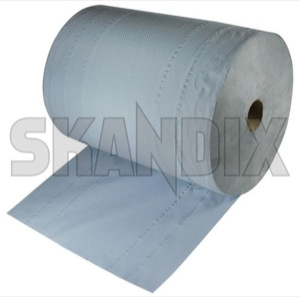 Cleaning rag 37 x 34 cm Reel 1000 Sheets  (1022603) - universal  - cleaning rag 37 x 34 cm reel 1000 sheets clothes cloths pads rags Own-label 1000 1000sheets 3  3layer 3 layer 34 34cm 37 blue cm reel sheets x