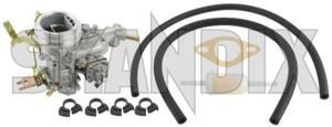 Vergaser Weber 34 Satz  (1022670) - Volvo 120 130 220, PV P210 - 121 122 122s 130 131 210 220 544 amazon amazone buckelvolvo duett katterug katzenbuckel p120 p121 p122 p122s p130 p131 p210 p220 pv pv544 vergaser weber 34 satz skandix 1 1fach 34 bowdenzugchoke choke einfach einfachvergaser einvergaser fach manueller satz seilzugchoke set umruestsatz vergaser weber