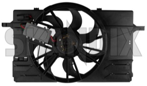 Elektrischer Kühlerlüfter 31261988 (1022811) - Volvo C30, C70 (2006-), S40 V50 (2004-) - cabrio coupe elektrischer kuehlerluefter elektroluefter elektromotoren fan geblaesemotor kuehlerfan kuehlerluefterelektromotor kuehlerlueftermotor kuehlerventilator lueftermotor lueftermotoren motoren s40 s40ii v50 ventilator Hausmarke