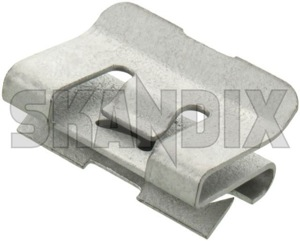 Clip, Body trim Rail Trim, Roof edge 9178792 (1022912) - Volvo 850, S70 V70 (-2000), V70 XC (-2000) - clip body trim rail trim roof edge Genuine edge rail roof sheet steel trim trim