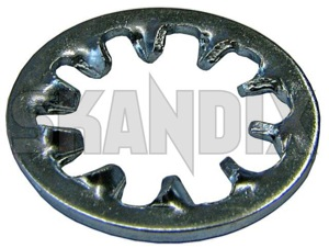 Serrated lock washer 986679 (1023035) - Volvo universal - serrated lock washer trailing arm bolts Own-label 5/16 516 5 16  inch inner teethed zinccoated zinc coated
