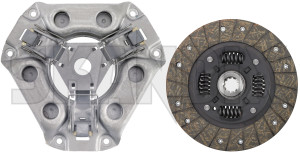 Clutch kit 8781270 (1023089) - Saab 95, 96, Sonett III, Sonett V4 - clutch kit skandix clutch exchange original part releaser to true without