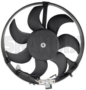 Electrical radiator fan 1378916 (1023369) - Volvo 700, 900 - cooler cooling fans electrical radiator fan electrically engine fans fan motor Own-label