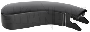 Cap, Wiper arm Windscreen washer 9484616 (1023542) - Volvo S60 (-2009), S80 (-2006), V70 P26, XC70 (2001-2007) - cap wiper arm windscreen washer wipers Genuine cleaning drive for hand left lefthand left hand lefthanddrive lhd vehicles window windscreen