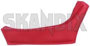 Cover, Interior panel Arm rest, Door 669184 (1024054) - Volvo P1800 - 1800e cover interior panel arm rest door p1800e Own-label arm door left red rest rest  vinyl