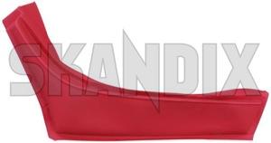 Cover, Interior panel Arm rest, Door 669185 (1024055) - Volvo P1800 - 1800e cover interior panel arm rest door p1800e Own-label arm door red rest rest  right vinyl