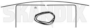 Trim moulding, Glas Windscreen Kit  (1024616) - Saab 900 (-1993) - trim moulding glas windscreen kit window scraper Own-label kit windscreen