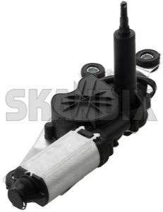 Wiper motor for Rear window 8667188 (1024845) - Volvo V70 P26, XC70 (2001-2007) - wiper motor for rear window wipers Own-label cleaning for jet rear window with