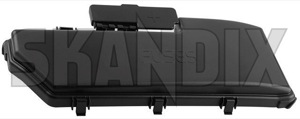 Cover, Fuse box Engine compartment 9494211 (1025154) - Volvo S60 (-2009), S80 (-2006), V70 P26, XC70 (2001-2007), XC90 (-2014) - cap car fuses cover fuse box engine compartment fuse boxes covering lid Genuine accumulator acumulator battery compartment cover cover  engine plus pole positive protection starter terminal with
