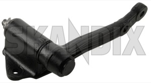 Idler arm 663627 (1025535) - Volvo 120 130, P1800 - 1800e idler arm p1800e pitman arm pitmanarm reversing lever steering lever steering pin Own-label 666352 additional attention attention  drive exchange for hand info info  left lefthand left hand lefthanddrive lhd note part please policy return special vehicles with