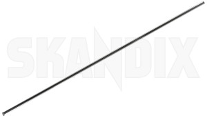 Trim moulding, Door for Driver door for Passenger door centre 1246611 (1026285) - Volvo 200 - molding moulding trim moulding door for driver door for passenger door centre Genuine 12,5 125 12 5 12,5 125mm 12 5mm centre chrome door driver for mm passenger