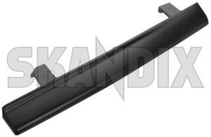 Trim moulding, Headlight left 1312738 (1026479) - Volvo 200 - molding trim moulding headlight left Genuine black left