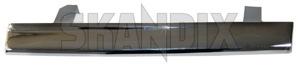 Trim moulding, Headlight left 1312634 (1026480) - Volvo 200 - molding trim moulding headlight left Genuine chrome left