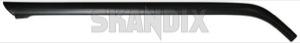 Drip rail moulding left A-pillar 1312721 (1026979) - Volvo 200 - drip rail moulding left a pillar drip rail moulding left apillar trim moulding Genuine apillar a pillar black left