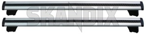 Lastenträger 31454717 (1027006) - Volvo XC60 (-2017) - dachgepaecktraeger dachreeling dachreling dachtraeger gelaendewagen gepaecktraeger lastentraeger rails reeling reling suv traeger xc xc60 Original 100 100kg aluminium dachreeling fahrzeuge fuer kg mit