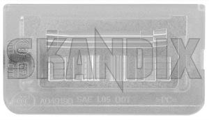 Lichtscheibe, Kennzeichenleuchte 12765543 (1027165) - Saab 9-5 (-2010) - 95 95 9 5 9600 glas kennzeichenbeleuchtungsglas kennzeichenleuchte kennzeichenleuchtenglas lichtscheibe kennzeichenleuchte lichtscheiben linse nummernschildbeleuchtung nummernschildleuchte nummernschildleuchtenglas Original