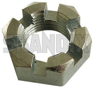 Castle nut 7904279 (1027384) - Saab 95, 96 - castle nut Own-label joint transmission