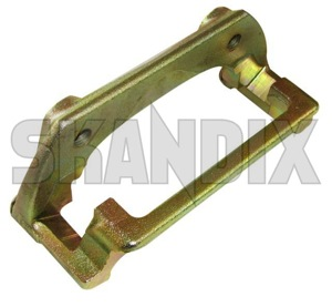 Carrier, Brake caliper fits left and right System Girling 8251155 (1027914) - Volvo 700 - brake caliper bracket brakecalipercarrier brick carrier bracket carrier brake caliper fits left and right system girling mounting bracket Genuine 14 14inch 262 262mm abs and axle exchange fits for front girling inch left mm part right system vehicles without