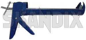 Cartridge dispenser  (1028760) - universal  - cartridge dispenser cartridge guns caulking guns Own-label blue professional steel version