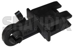 Arrestor, Lock lever 9483942 (1029072) - Volvo V70 P26, XC70 (2001-2007) - arrestor lock lever catch Genuine for tailgate