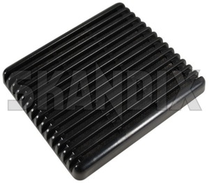 Speaker cover 1323420 (1030141) - Volvo 200 - loudspeaker speaker cover Genuine black door