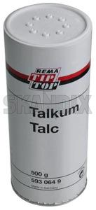 Talkum 500 g  (1030653) - universal  - magnesiumsilikathydrat mg3si4o10oh2 mg3si4o10 oh 2 speckstein steatit talk talkum 500g Hausmarke 500 500g dose g