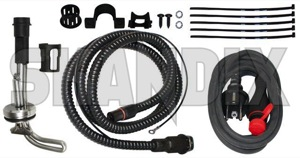 Electric engine heater Kit  (1031089) - Volvo 200, 700, 900 - electric engine heater kit external heaters preheating pre heating winter accessories Own-label kit