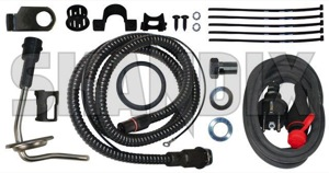 Electric engine heater Kit  (1031092) - Volvo 200, 300, 700 - electric engine heater kit external heaters preheating pre heating winter accessories Own-label kit