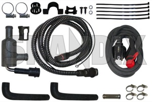 Electric engine heater Kit  (1031097) - Volvo 850, S70 V70 V70XC (-2000) - electric engine heater kit external heaters preheating pre heating winter accessories Own-label kit