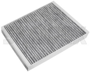 Cabin air filter Activated Carbon 13271191 (1031103) - Saab 9-5 (2010-) - airfilter cabin air filter activated carbon cabin filter cabinfilter interior air filter skandix activated carbon filtre multi multifilter