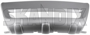Bumper protector 30764992 (1031160) - Volvo XC60 (-2017) - bumper protector moustache Own-label aluminium bumper front look material plastic synthetic
