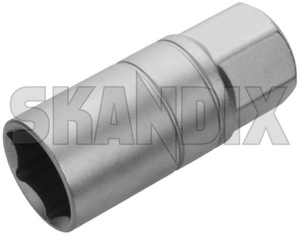 Hexagon socket wrench SW 21 for Spark plug with Magnet  (1031230) - universal  - hexagon socket wrench sw 21 for spark plug with magnet Own-label 1/2 12 1 2  1/2 12inch 1 2 inch 12,5 125 12 5 12,5 125mm 12 5mm 21 for inch magnet mm plug spark sw with