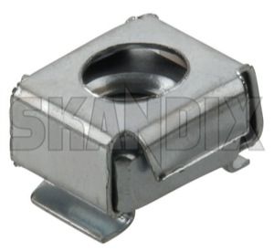 Cage nut M6 946947 (1031554) - Volvo universal ohne Classic - bucket nut cage nut m6 square nut Own-label m6